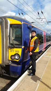 Thameslink train driver in fatality drama shortlisted for award