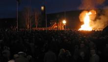 Copper Town Harmony sjunger in våren vid Gruvan
