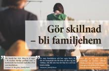 Gör skillnad - Bli familjehem