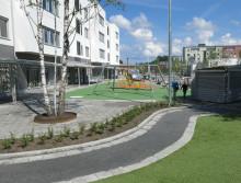 Skolstart i Ulriksdalsskolan - idag invigs den första av flera nya Solnaskolor