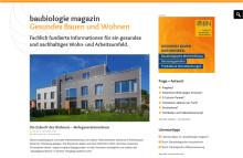 baubiologie-magazin.de: Zukunftsfähiges Wohn- und Arbeitsumfeld