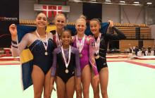 15 grenfinalsmedaljer till Sverige på NM i artistisk gymnastik