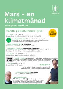 Program klimatmånad på Fyren