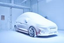 Snø i juli eller hetebølge til jul: Her er Fords nye værfabrikk
