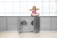 Pesukoneet ja kuivausrummut täydellisessä valeasussa