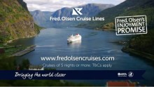 Don't let it be a 'Blue January' with Fred. Olsen Cruise Lines' great-value 'Turn of Year' sales campaign