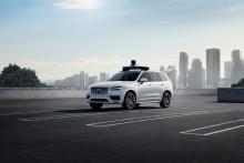 Volvo Cars och Uber presenterar produktionsbil som är redo för självkörande