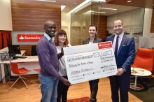 Hilfe für Kanduyi Children e.V.: Santander spendet 2 500 Euro