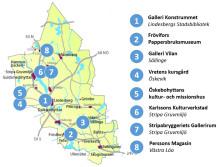 Gör en konstrunda i sommar i Lindesbergs kommun
