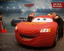 The Walt Disney Company Germany und Mattel Deutschland luden zur Präsentation des lebensgroßen Lightning McQueen  anlässlich der IAA 2017 ein