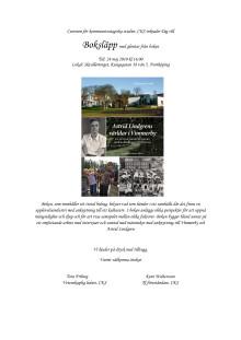 Inbjudan boksläpp 24 maj