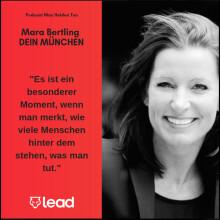 Podcast mit Mara Bertling, Gründerin und Geschäftsführerin von DEIN MÜNCHEN