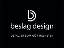Ny visuell identitet för Beslag Design