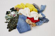 Svenska garderober överfyllda av oanvända kläder
