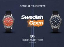 Sjöö Sandström - Official Timekeeper för Swedish Open i Båstad 2019
