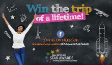 The 2017 edition of the DStv Eutelsat Star Awards launches with a brand new Facebook page!