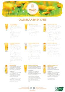 Samlingsblad Calendula Baby Care
