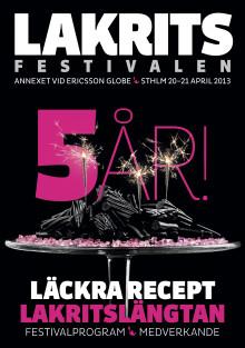 Festivaltidning - Lakritsfestivalen 2013