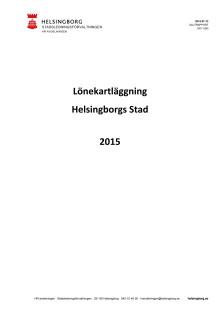 Slutraport Lönekartläggning 2015