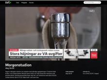 """""""Stora höjningar av VA-avgifter"""" /SVT – Morgonstudion 8 feb 2019"""
