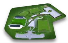 Anläggning för svensk fotboll vid Arlandastad?