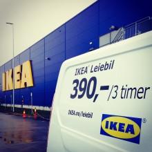 Nå kan du enkelt leie varebil på IKEA over hele landet