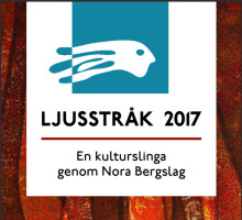 Lindesbergare ställer ut på Noras kulturslinga Ljusstråk