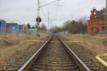 Stationsområdet i Lomma anläggs