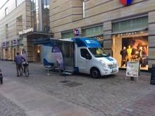 Beratungsmobil der Unabhängigen Patientenberatung kommt am 29. Mai nach Stralsund.