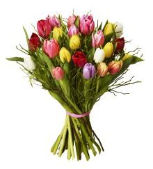 Tulpaner storsäljare till Alla hjärtans dag
