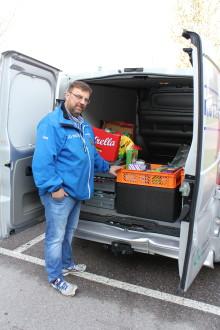 Svensk hjälte för sitt arbete med att minska matsvinnet