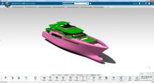 NAOS Ship and Boat Design använder Dassault Systèmes 3DEXPERIENCE-plattform för att virtuellt utveckla komplexa superyachts
