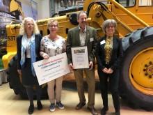 Örjan och Maria Lindahl driver Årets Lantbruksföretag i Sörmland