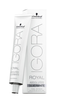 IGORA ROYAL ABSOLUTES SILVERWHITE: Sølv er det nye blond
