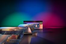 Canons UVgel-kunder viser produkter og forteller om fordelene med Océ Colorado 1640 på FESPA 2018