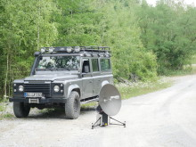 Cobham SATCOM: EXPLORER Terminals Delivered for Land Rover Tour of Peru