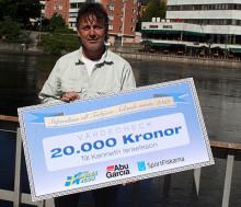 Kenneth från Norrköping får ungdomsledarstipendium