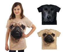Big-Face T-shirts til børn