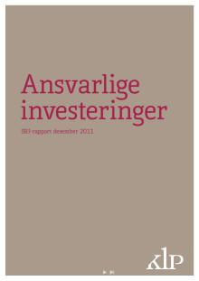 SRI-rapport per desember 2011