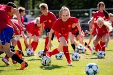 Sandvikens IF vinner en träningsvecka med Manchester United Soccer School!