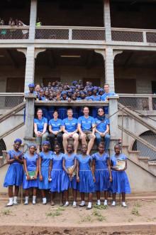 CBRE reser till Sierra Leone för att se resultatet av samarbetet med den globala barnrättsorganisationen Plan International