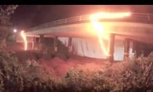 Highways England release video of bridge demolition