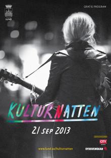 Kulturnatten 2013 -här finns något för alla!