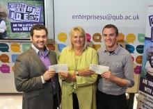 Young entrepreneurs win big at Queen's awards