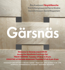 Gärsnäs press viewing 3rd February at 2.30 pm