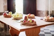 Äppeldag på slottet