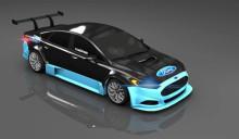 Rasmus Mårthen och Brovallen Design kör Ford i STCC