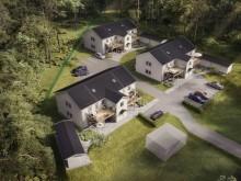 Lägenheter från OBOS: Brf Eken växer fram i Lerum