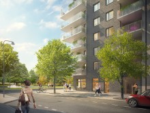 Byggstart för 153 lägenheter i Uppsala