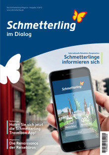 Schmetterling im Dialog - Magazin September 2015